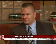 Dr. Gerwin Schalk prominently featured in News Channel 13